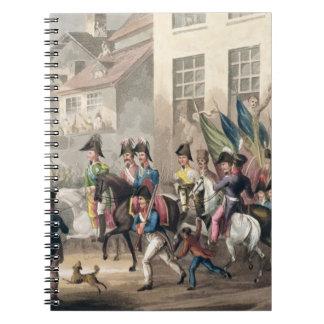 パリへの同盟国の入口、1814年3月31日 ノートブック