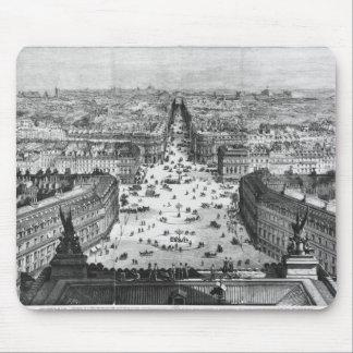パリへの改善 マウスパッド