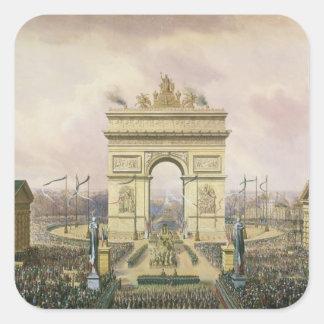 パリへの皇帝の灰のリターン スクエアシール