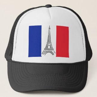 パリエッフェル塔のフランスのな旗の帽子 キャップ