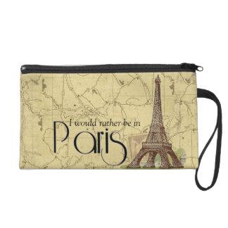 パリエッフェル塔のリストレットの化粧品のバッグ リストレット