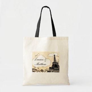 パリエッフェル塔の春 トートバッグ