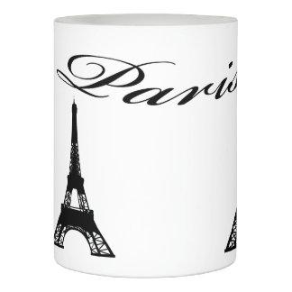 パリエッフェル塔の白黒 LEDキャンドル