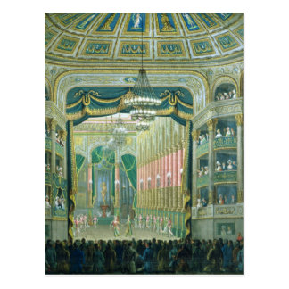 パリオペラのステージの眺め ポストカード