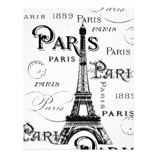 パリフランスのギフトおよび記念品 レターヘッド
