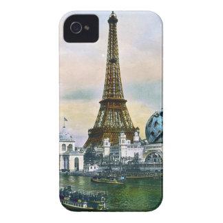 パリフランスの万国博覧会1889年-ヴィンテージ旅行 Case-Mate iPhone 4 ケース