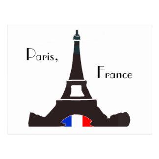 パリフランスの郵便はがき ポストカード