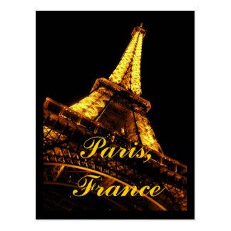 パリフランスエッフェル塔の郵便はがき ポストカード