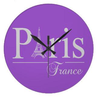パリフランスカスタムな色の柱時計 ラージ壁時計