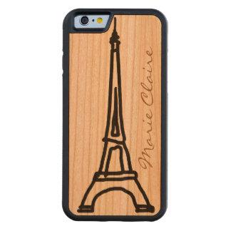 パリフランス CarvedチェリーiPhone 6バンパーケース
