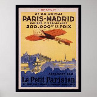 パリマドリードLe小さいパリポスター ポスター