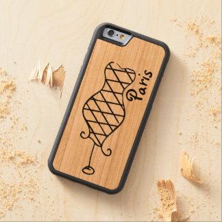 パリワイヤーフレーム CarvedチェリーiPhone 6バンパーケース