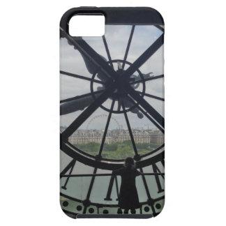 パリ博物館のD'Orsayの時計 iPhone SE/5/5s ケース