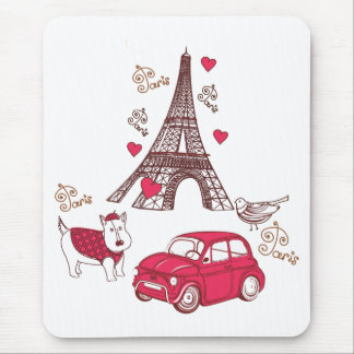 パリ愛 マウスパッド