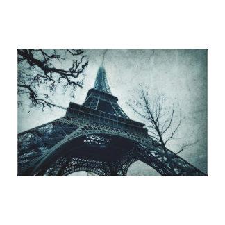 パリ旅行エッフェル キャンバスプリント
