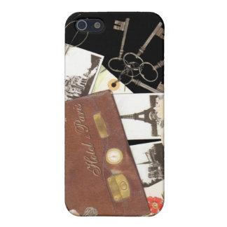 パリ旅行 iPhone SE/5/5sケース