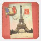 パリ正方形Sticker4 スクエアシール