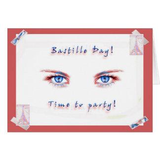 パリ祭のパーティー! グリーティングカード