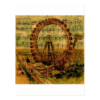 パリ観覧車 ポストカード