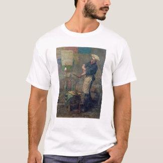 パリ1870年の包囲の間のラットの販売人 Tシャツ