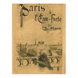 パリ1900年の展覧会 ポストカード