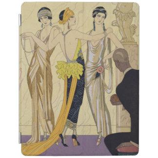 パリ1920-30年の判断(pochoirのプリント) iPadスマートカバー