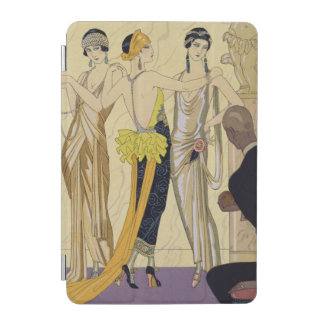 パリ1920-30年の判断(pochoirのプリント) iPad miniカバー