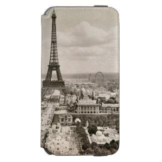 パリ: エッフェル塔1900年 INCIPIO WATSON™ iPhone 6 財布ケース