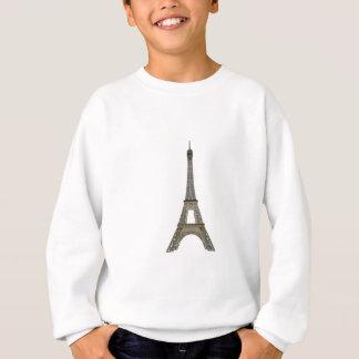 パリ: エッフェル塔: ベクトルスケッチ: スウェットシャツ