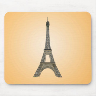 パリ: エッフェル塔: ベクトルスケッチ: マウスパッド