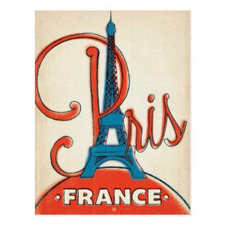 パリ-エッフェル塔 ポストカード