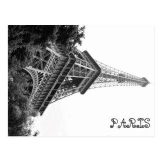 パリ、エッフェル ポストカード