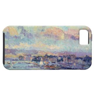 パリ(キャンバスの油)の眺め iPhone SE/5/5s ケース