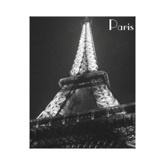 パリ キャンバスプリント