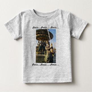 パリ-コンコルド広場 ベビーTシャツ