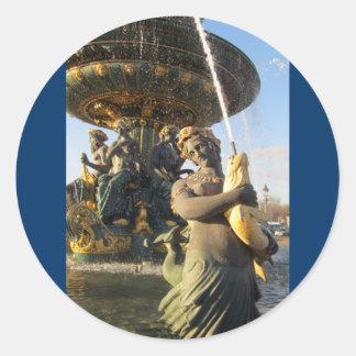 パリ-コンコルド広場 ラウンドシール