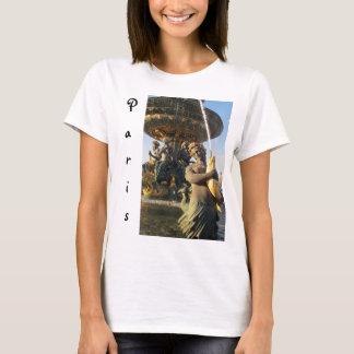 パリ-コンコルド広場 Tシャツ