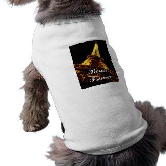 パリ、フランスのエッフェル塔、ペット衣類 ペット服
