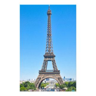 パリ、フランスのエッフェル塔 便箋