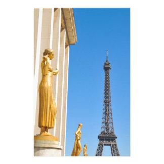 パリ、フランスのエッフェル塔(旅行エッフェル) 便箋