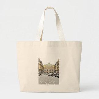 パリ、フランスのオペラ ラージトートバッグ