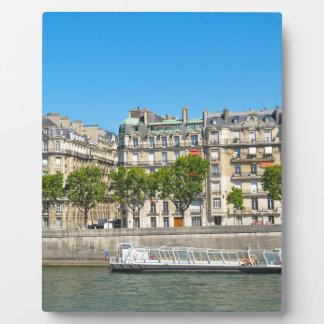 パリ、フランスの川セーヌ河 フォトプラーク