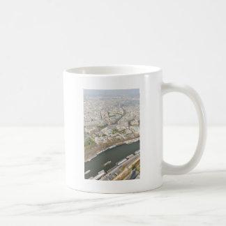 パリ、フランスのSeine川 コーヒーマグカップ