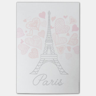 パリ、フランス愛 ポストイット