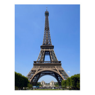 パリ、フランス3 ポストカード