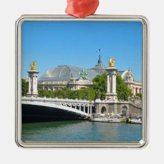 パリ、フランス メタルオーナメント