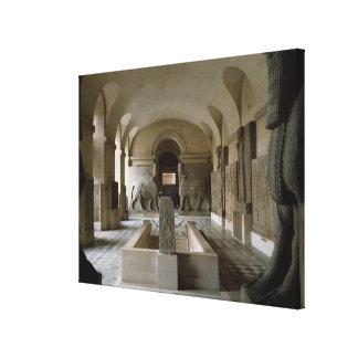 パリ(写真)のルーバーのアッシリア部屋 キャンバスプリント