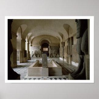 パリ(写真)のルーバーのアッシリア部屋 プリント
