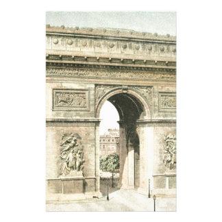 パリ、凱旋門 便箋