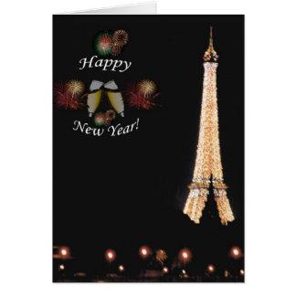 パリ: 新年の歓迎 カード